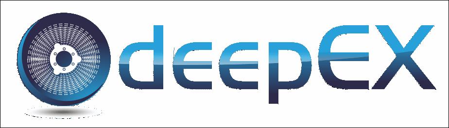 logo de deepEX, limpieza industrial