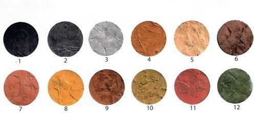 2 Carta De Colores Pavimento Impreso
